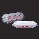 RTD-1298 - Hot Dog Reusable Plastic Trays