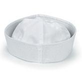 RTD-1371 - White Cotton Sailor Hat for Children