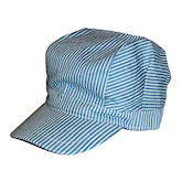 RTD-1595 - Adult Deluxe Train Engineer Hat - Adjustable