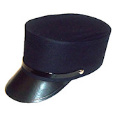 RTD-1602 - Navy Train Conductor Hat for Kids and Adults