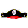 RTD-1047 - Pirate Party Hat Caribbean Style 1-Size-Fits-All