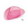 RTD-1168 - Pink Felt Cowgirl Cowboy Hat
