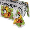 RTD-1297 - Zoo Animal Party Tablecloth