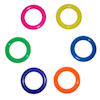 RTD-1302 - Solid Plastic Cane Pop Bottle Carnival Toss Rings