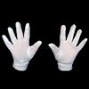 RTD-1303 - Pair of Adult White Costume Gloves