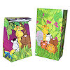 RTD-1314 - Zoo Animal Party Paper Goody Bags - Treat Sacks