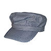 RTD-1344 - Childs Deluxe Train Engineer Hat Adjustable Touch Fastener