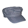 RTD-1349 - Adult Deluxe Train Engineer Hat w/Velcro Strap