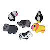 RTD-1389 - 144 Pack Mini Zoo Animal Erasers