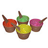 RTD-1390 - Waffle Ice Cream Cone Bowl and Spoon Set