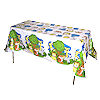 RTD-1458 - Zoo Animal Party Plastic Tablecloth