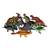 RTD-1486 - Assorted 6 in - 8 in Large Plastic Dinosaurs
