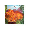 RTD-1495 - 16 pc Dinosaur Beverage Napkins