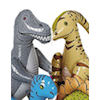 RTD-1500 - 6 pack of Large Inflatable Dinosaurs