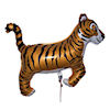 RTD-1506 - 30 inch Tiger - Animal Mylar Balloon