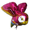 RTD-1508 - 28 inch 3D Flying Parrot - Mylar Balloon