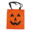 RTD-1533 - Jack-o-Lantern Pumpkin Halloween Fabric Trick-or-Treat Bags