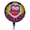 RTD-1549 - 18 inch Circus Clown Face Mylar Balloon