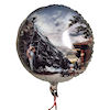 RTD-1551 - 18 inch Old Fashion Train Party Mylar Balloon