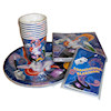 RTD-1567 - Magic Party Tableware and Invitation Set