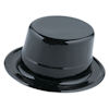 RTD-1576 - Magicians Black Plastic Top Hat