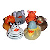 RTD-1583 - Safari Animal Zoo Party Rubber Ducks