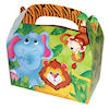 RTD-1683 - Jungle Safari Zoo Animal Party Treat Box