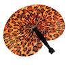 RTD-1763 - Leopard Print Folding Fan