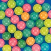 RTD-1840 - Glow-In-The-Dark Colored Bouncy Balls