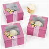 RTD-2012 - Girl Baby Shower Cupcake Box