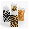 RTD-2048 - Jungle Safari Animal Print Treat Bags