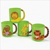 RTD-2065 - Plastic Zoo Animal Mugs
