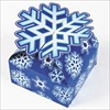 RTD-2204 - Christmas Holiday 3-D Snowflake Gift Box