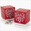 RTD-2229 - Cardboard Valentine Die Cut Favor Box