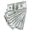 RTD-2247 - 100-pack of Play Money Paper Money Bills