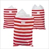 RTD-2308 - Red and White Striped Large Plastic Treat Bags