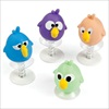 RTD-2360 - Plastic Crazy Bird Pop-Up Party Favors