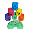 RTD-2386 - Goofy Happy Smiley Funny Face Magic Spring