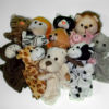 RTD-2467 - Soft Zoo and Farm Animal Hand Puppets with 4 Legs