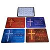 RTD-2478 - 12-pack CROSS 2013 Plastic Wallet Card Calendars