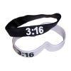 RTD-2488 - Christian John 3:16 Rubber Bracelet