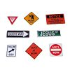 RTD-2496 - 36-pack Christian Road Sign Temporary Tattoos