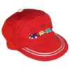 RTD-2512 - Train Cap for Toddlers - Red - Medium