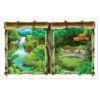 RTD-2532 - Insta-View Jungle View Windows Backdrop Banner
