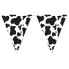 RTD-2537 - Farm Animal Party Cow Print 12 ft Pennant Banner