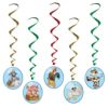 RTD-2539 - Farm Animal Barnyard Party Dangling Swirl Decorations