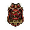 RTD-2548 - Little Firefighter Fire Chief Fireman Badge