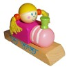 RTD-2591 - Wooden Train Whistle Girl Engineer