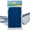 RTD-2605 - Sailor's Decorative Blue Fish Netting - 12x4 ft Net