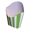 RTD-2608 - French Fry Holder - Lime Green Striped